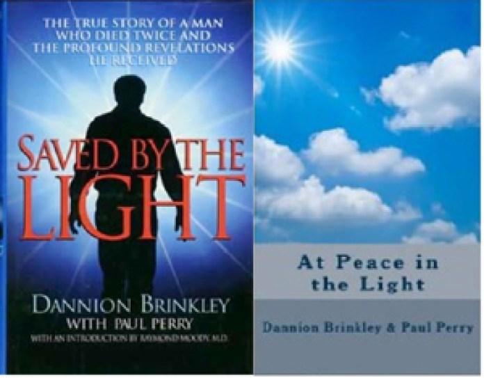 《Saved by the Light》和《At Peace in the Light》都极为畅销,被多次翻印,这是其中两版的封面。(网络)