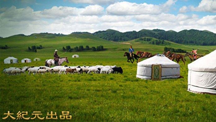 鐵木真的聲名漸漸地在草原的蒙古部落中為很多人所知曉(大紀元製圖)