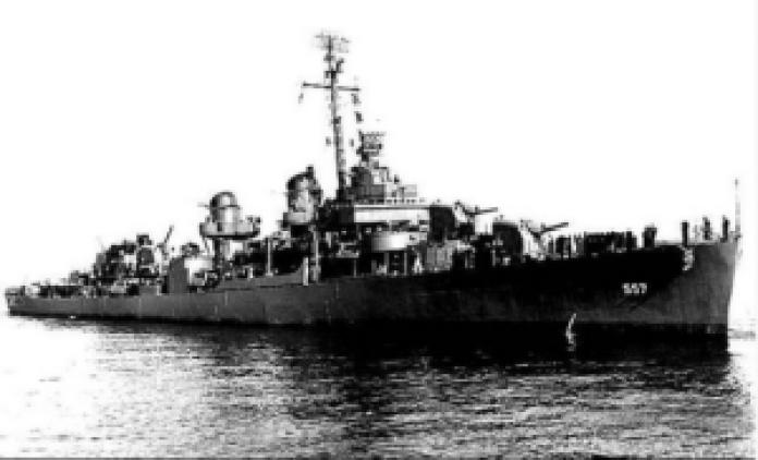 """""""约翰斯顿 """"号,这是一艘美国海军驱逐舰(pettyofficersuits/ins)"""