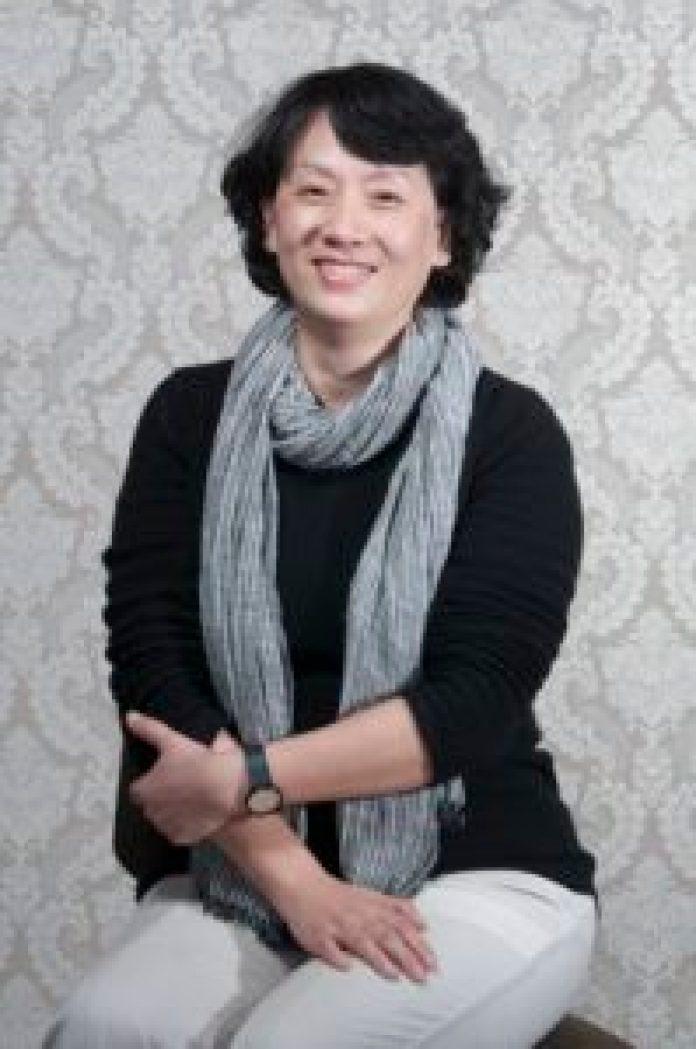 音樂班老師廖秀梅強調蔦松國中的音樂班以浪漫主義時期以前的曲目為主(王正宗攝)影