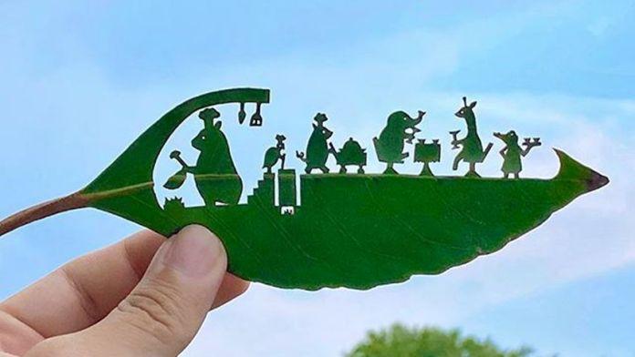 荔枝叶艺术(Lito Leaf Art/FB)
