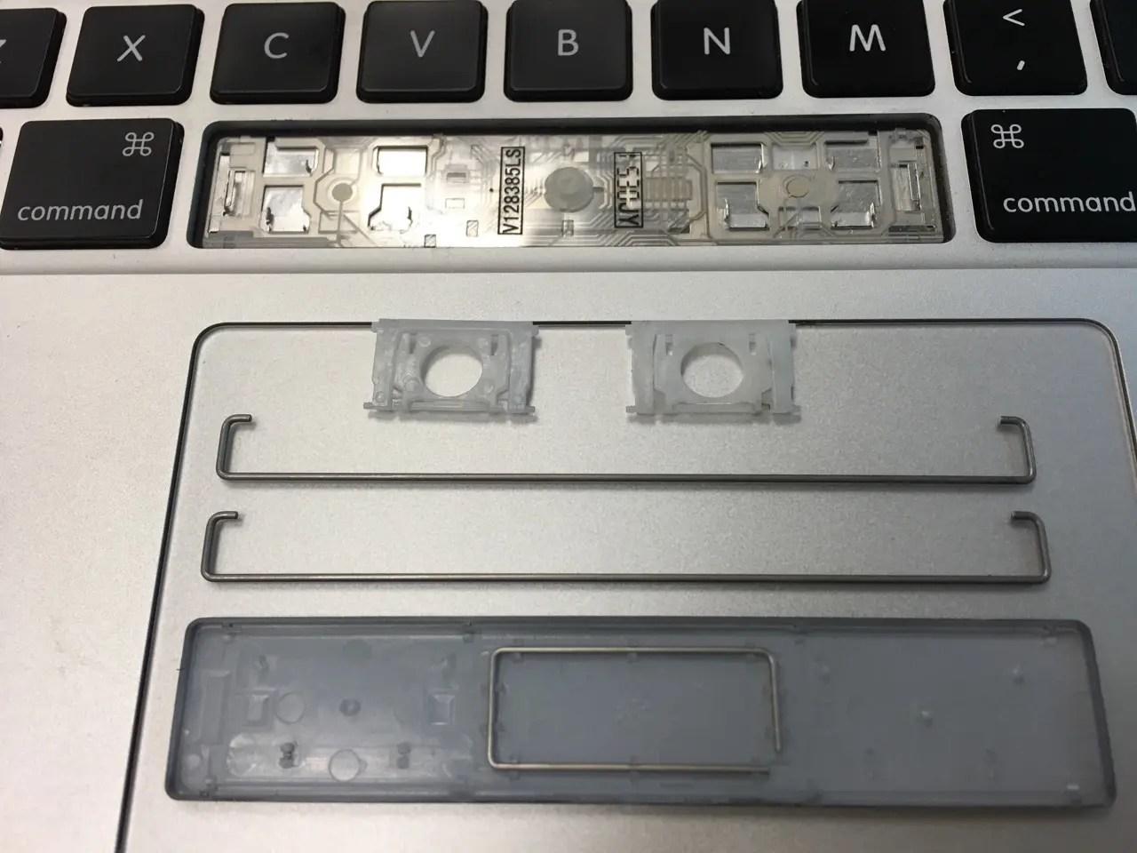 Macbook Pro鍵盤拆解教程 - 簡書
