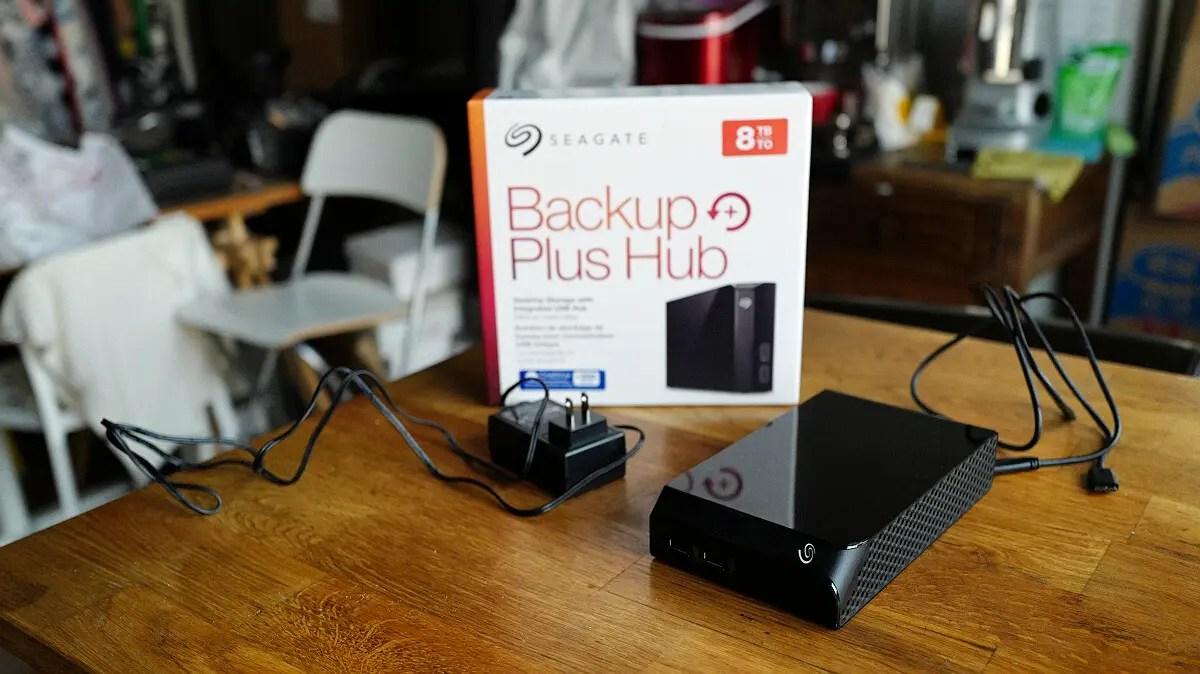 Seagate 希捷 Backup Plus Hub 8T 試拆解 - 簡書