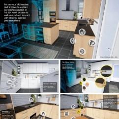 Virtual Kitchen Home Depot Wall Tile 宜家把厨房改造成一个可以用htc Vive虚拟现实体验的游戏 简书 这款应用程序的构建 不仅使用了epic Games中的虚幻引擎4 还可以让穿戴着vive头戴式设备的人 在一个虚拟的宜家厨房 感受到与实际相符合的尺寸大小