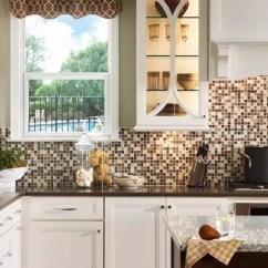 Kitchen Backsplashes Restore Cabinets 灵感 18个惊人华丽的马赛克厨房后挡板设计 简书 在选择瓷砖上并不一定都是完全相同的尺寸 事实上 它们越不规则 越有趣