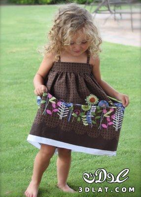 خياطة وتفصيل فستان طفلة خطوة خطوة بالصور كتكوتة