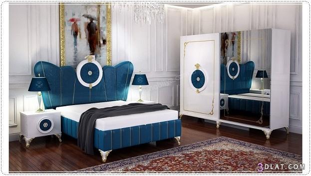 غرف نوم تركى 2020 كامله غرف نوم بالدولاب تركى 2020 غرف