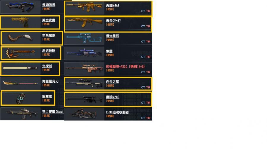 CSO 絕對武力其他-黑市販售槍 紅色麥格農-8591寶物交易網