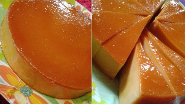 resipi puding roti karamel  lembut  enak Resepi Kek Pisang Gula Hangus Enak dan Mudah