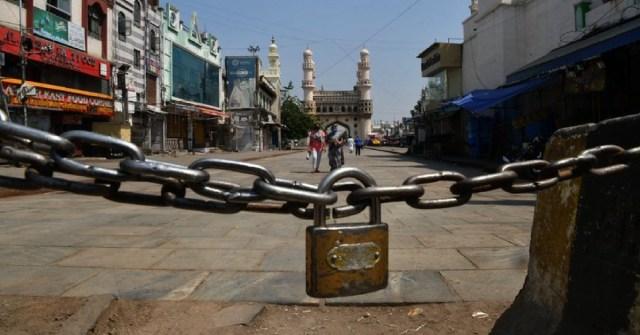 perintah berkurung India