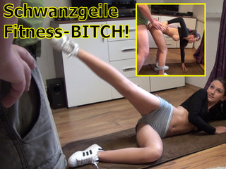 DirtyAnja - Schwanzgeile Fitnessbitch