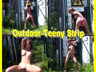 DirtyAnja - Outdoor  Strip