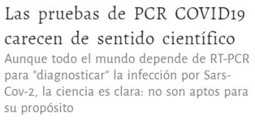 hlqzjo% - Los test PCR no son determinantes