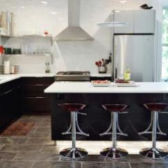 Red Kitchen Chairs Moen Brushed Nickel Faucet 欧式厨房地砖椅子效果图 欧式厨房地砖椅子图片 欧式厨房地砖椅子装修效果 欧式风格别墅酒红色高脚椅装修效果实景图