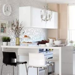 Ikea Kitchen Cabinet Handles Cabinets Refinishing 宜家厨房壁纸橱柜效果图 宜家厨房壁纸橱柜图片 宜家厨房壁纸橱柜装修效果 两个厨房两段不一样的人生