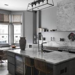 Gray Kitchen Chairs South Jersey Remodeling 现代厨房墙漆椅子效果图 现代厨房墙漆椅子图片 现代厨房墙漆椅子装修效果 250平米灰色调下的精致与优雅