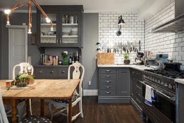 kitchen wall lights cabinet stain 厨房壁灯效果图 厨房壁灯图片 厨房壁灯装修效果图 点点美家 效果图
