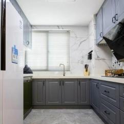 Kitchen Window Coverings What Is The Best Way To Unclog A Sink 厨房窗帘效果图 厨房窗帘图片 厨房窗帘装修效果图 点点美家 130 简约实用现代北欧风