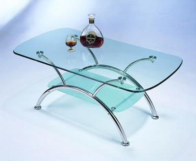 metal table glass table from china