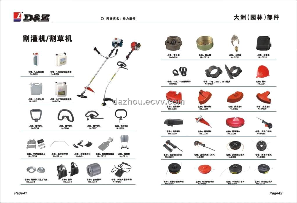 BRUSH CUTTER PARTS from China Manufacturer, Manufactory