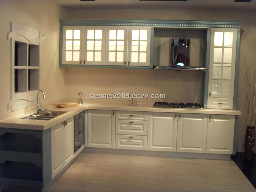 Demei PVC Series Kitchen Cabinet DMP001 purchasing