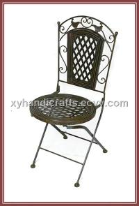 Wrought Iron Folding Chair Home Furnitures purchasing ...
