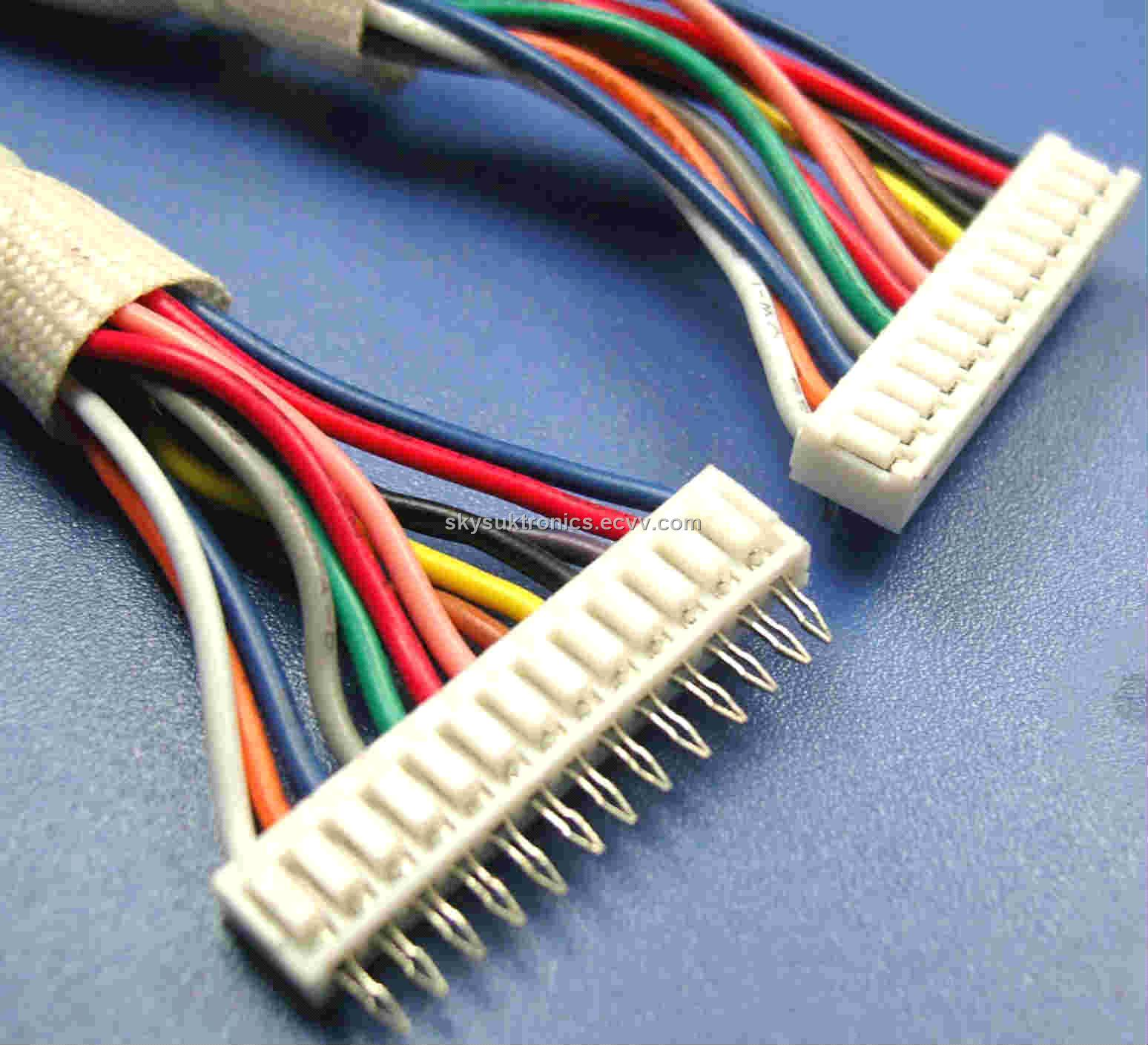 hight resolution of san 2 0 13p vertical angle to san 2 0 13p right angle jst wire harness