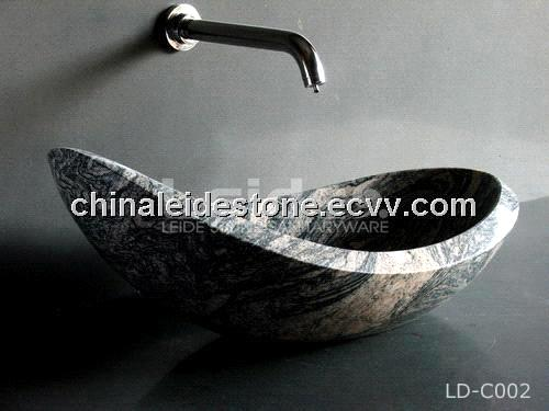 Natural Stone Vessel Sink LD C002 Purchasing Souring