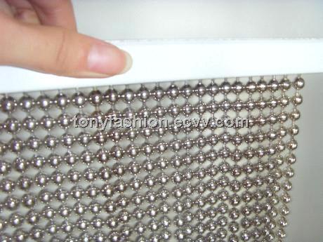 Metal Ball Chain Curtain China Metal Bal Chain Curtain;metal