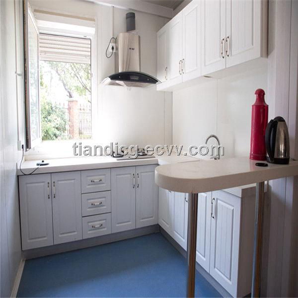 Kitchen Type Container House For Sales Purchasing, Souring