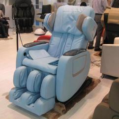 Comtek Massage Chair Brown Leather Recliner Rk7201 Advanced Luxury Purchasing