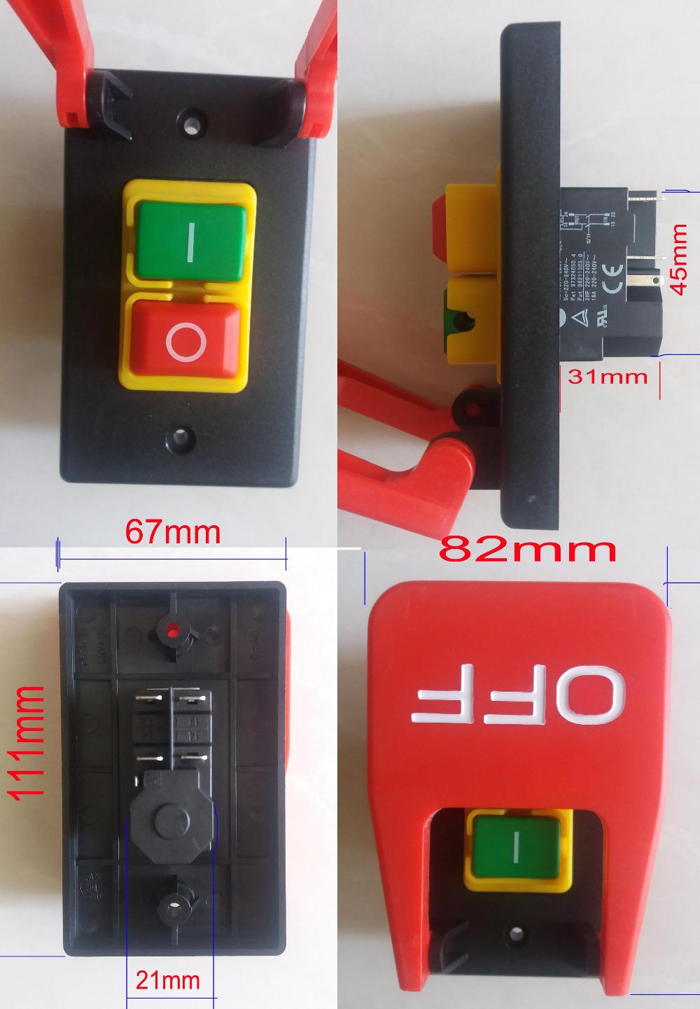 medium resolution of kedu 220v 240v 18a 16a 5e4 table saws electromagnetic pushon