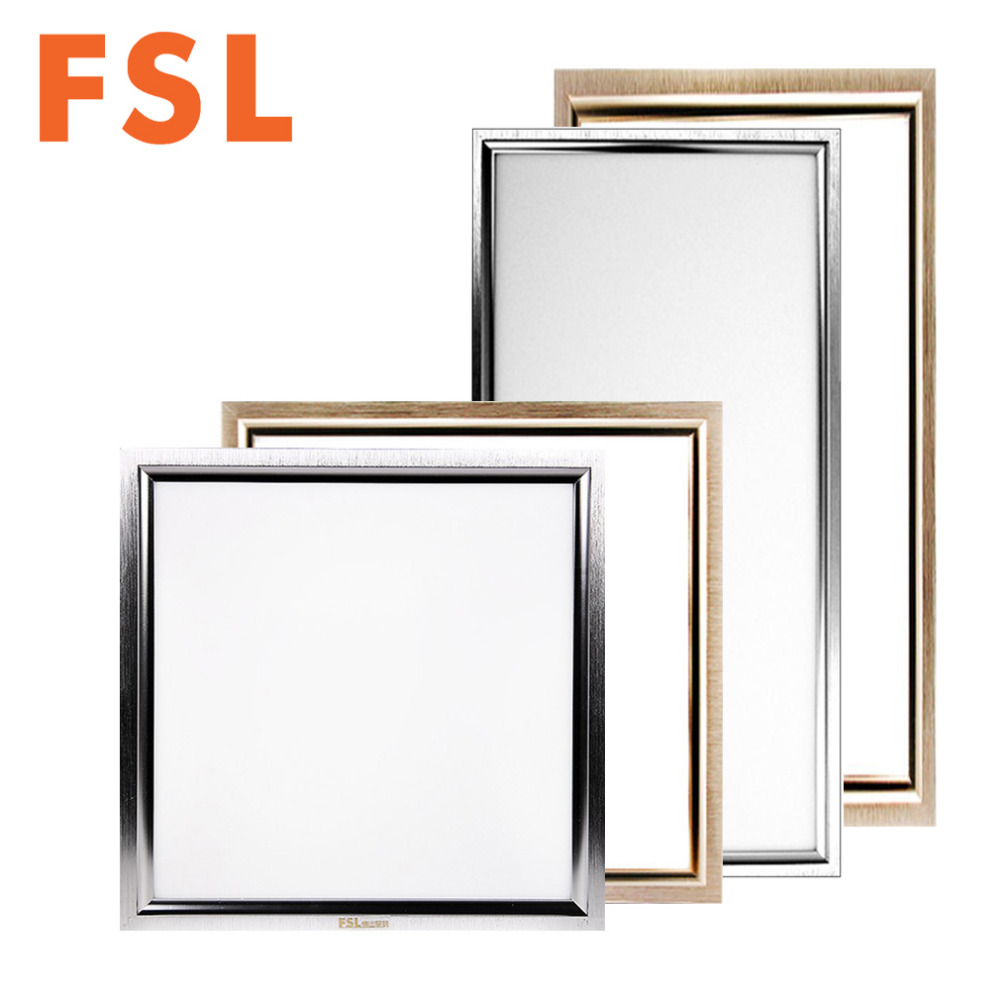 medium resolution of fsl 12w 18w 24w aluminum square led ceiling panel light ac 220v ultra thin sealed structure