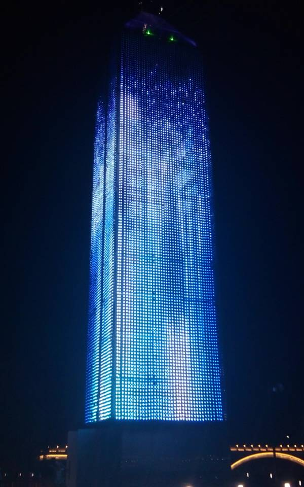 LED Outdoor Mesh ScreenMedia Facade purchasing souring
