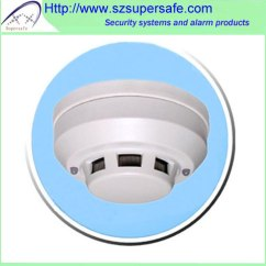 4 Wire Photoelectric Smoke Detector House Light Wiring Diagram Wires Wired Network Home Security Fire