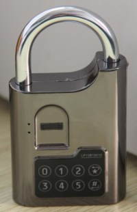 Fingerprint biometric padlock used in gym locker, gun ...