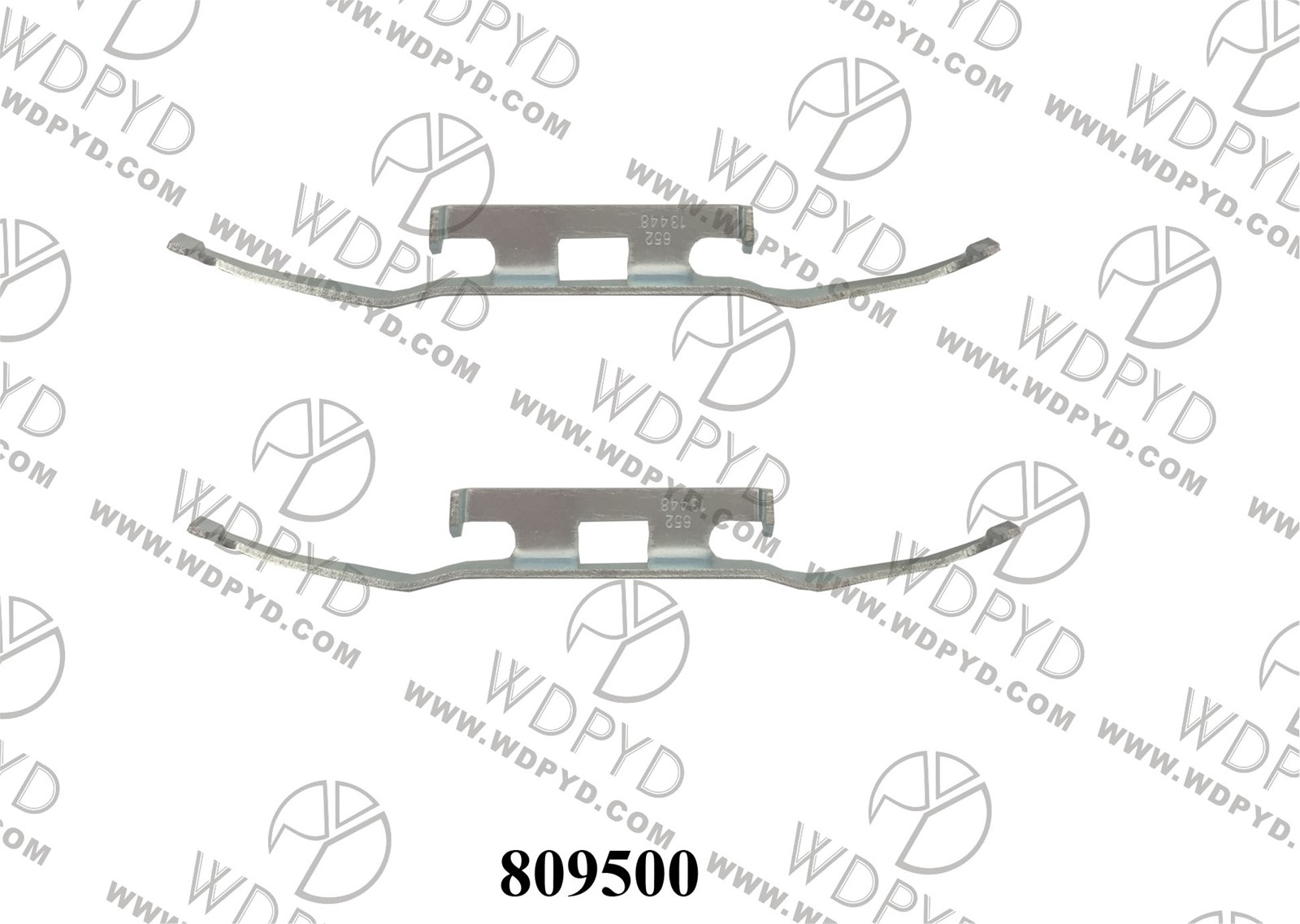 Wellde Dsic brake pad clip 809500 for REAR DODGE SPRINTER