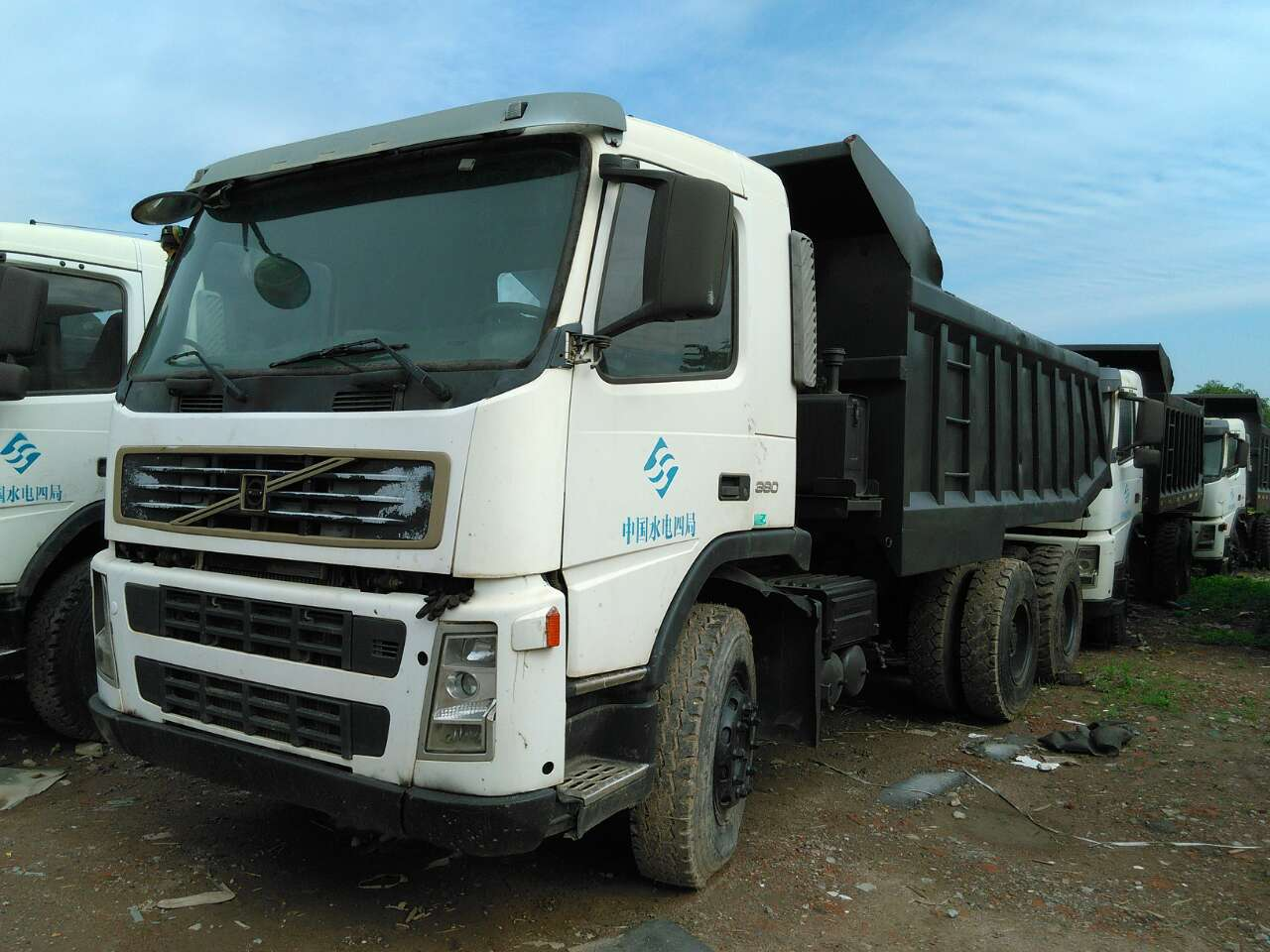 hight resolution of used volvo dump truck