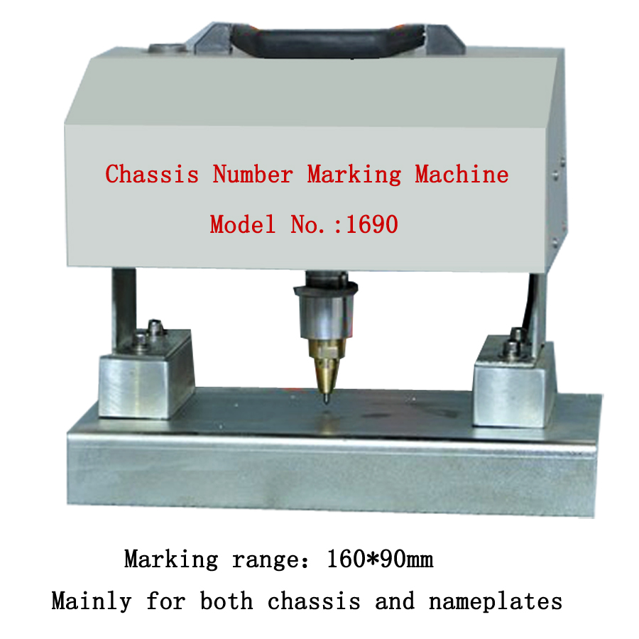 Chaise Number Portable Pneumatic Frame Vin Number Chassis Number Engraving Machine Needle Punching Machine