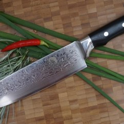 Damascus Kitchen Knives Costco Countertops High Quality Custom Hand Made Steel Chef Knife