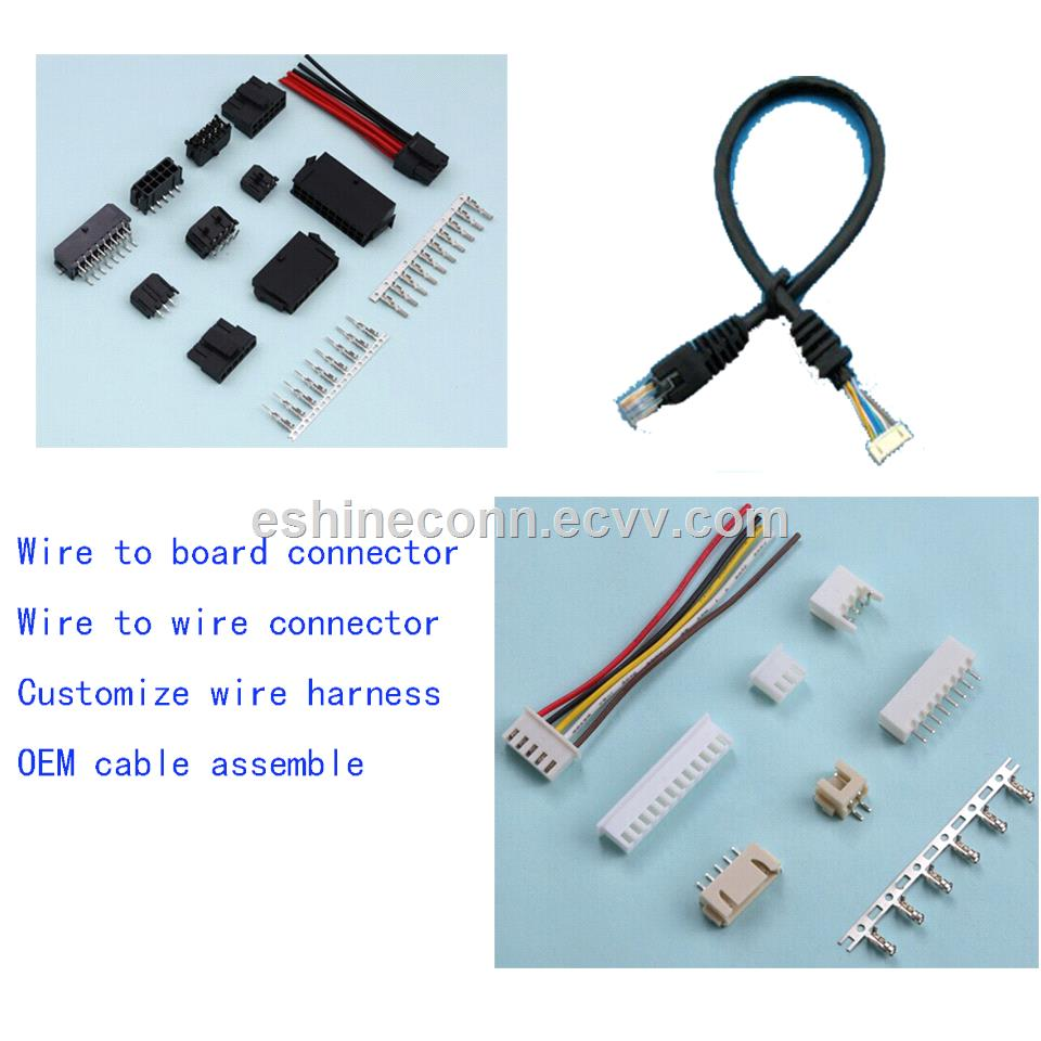 hight resolution of wire to board connector for cable wire harness assemble to led lamps