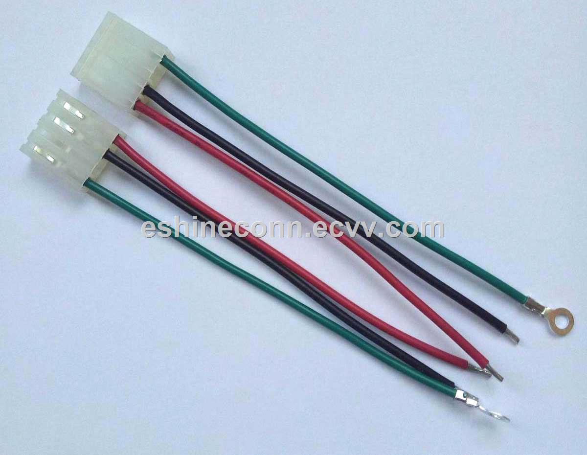 hight resolution of 150mm molex 2478 4circuits terminal wire hanrness assemble for vacuum cleaner