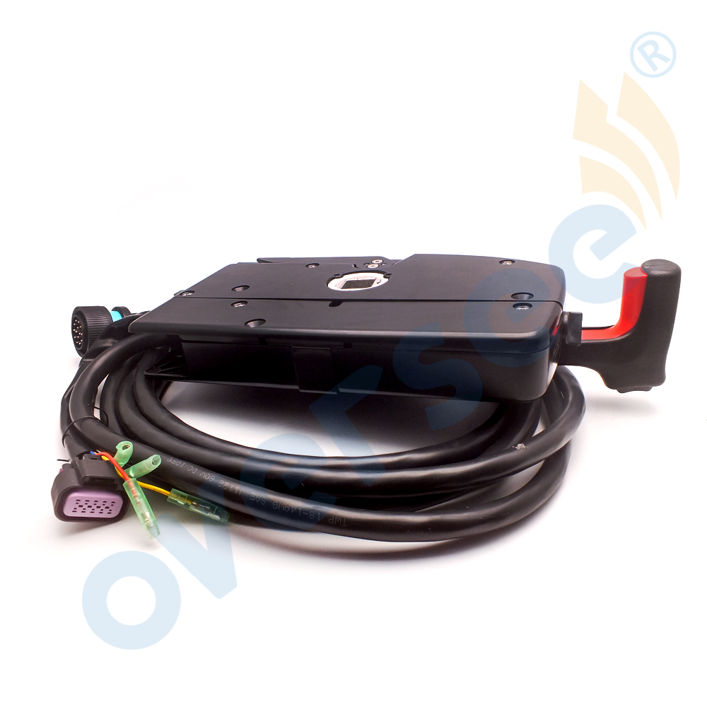 medium resolution of 881170a13 super outboard engine side mount remote control box with 14 pin mercury control box wiring