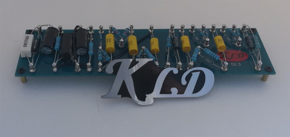medium resolution of kld empty turret board or fixed components based on fender 5e3 for diy amp and oem
