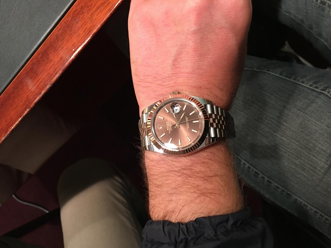 Confronto new Datejust 41  126234  vs Datejust II  116334   page 3