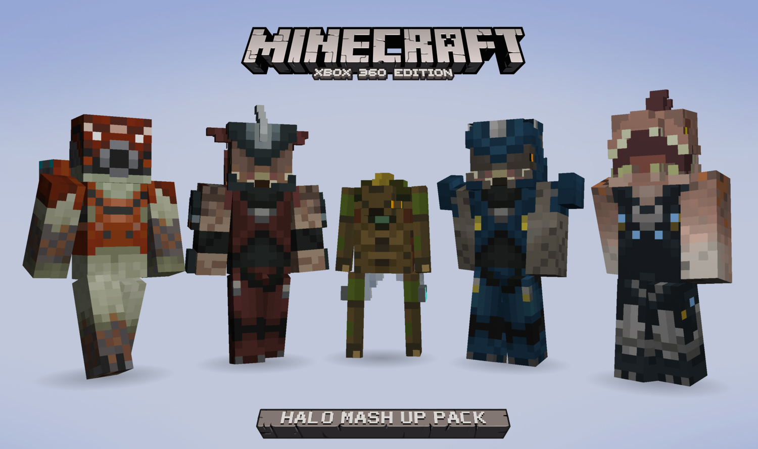Minecraft Xbox Edition Nouveau Mash Up Pack Sur Halo FR Minecraft