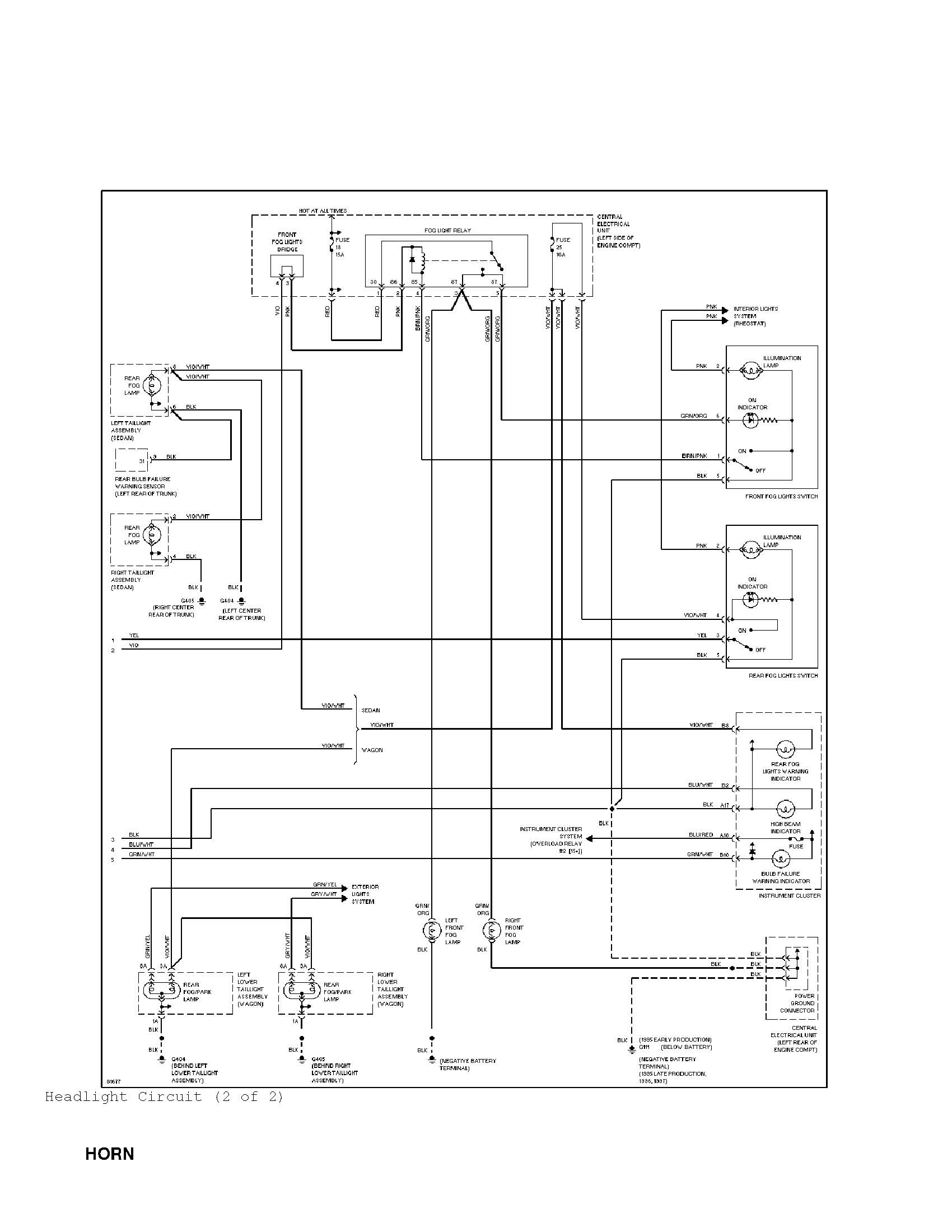 hight resolution of fog light installation page 2 cosmetic and detailing systemwiringdiagrams jpg here are the wiring diagrams for