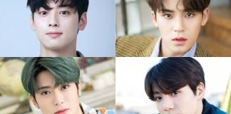 jaehyun nct, jungkook bts, mingyu seventeen, cha eunwoo astro berada di kelab itaewon