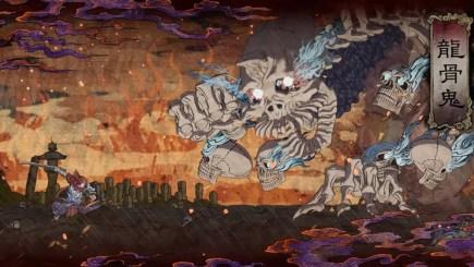 Getsu Fuma Den: Undying Moon – Castlevania phong cách hội họa Nhật Bổn