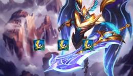 ĐTCL Mùa 5: Aatrox Thiên Thần, quẩy rank cực khỏe cùng đội hình 'siêu thấm hút'
